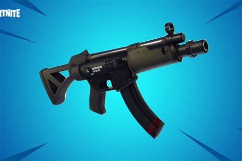 fortnite content update july  submachine gun debuts