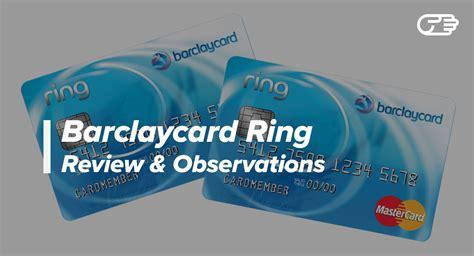 Best Barclaycard Barclaycard Ring Mastercard Reviews Best Low Apr Card