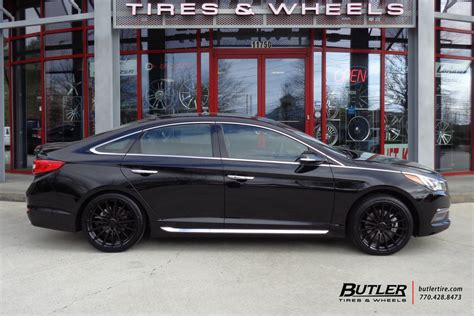 Did you know we have cheap wheels packages for 2016, 2017, 2018, 2019 hyundai sonata? Hyundai Sonata with 19in TSW Mallory Wheels exclusively ...