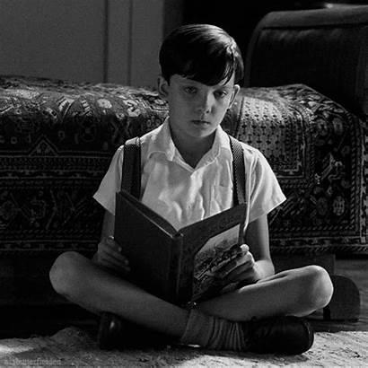 Pajamas Striped Boy Asa Butterfield Gifs Nightmares