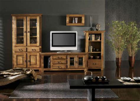 decoracion de salas  muebles de madera