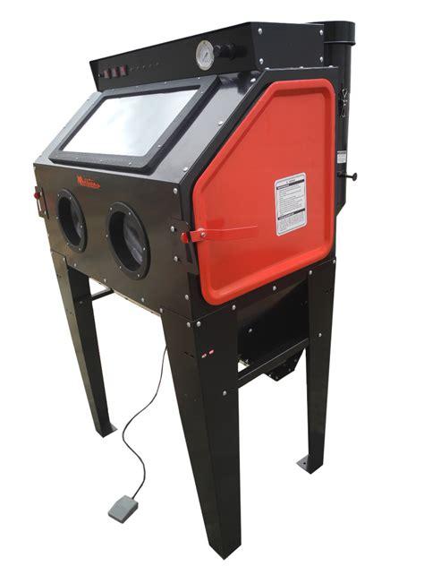 sand blast cabinet redline engineering re40 abrasive sand blasting cabinet