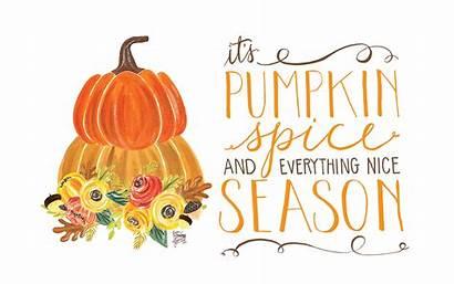 Pumpkin Spice Desktop Fall October Season Wallpapers