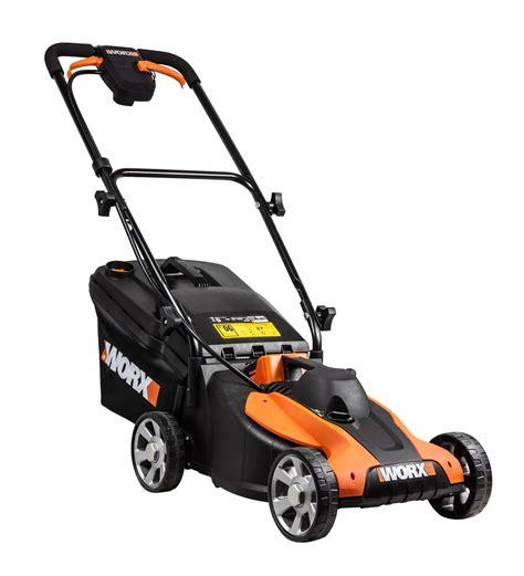 Worx Wg776e 40 V Lithiumion Cordless 33cm Lawn Mower