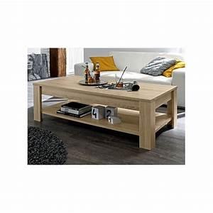 Table Chene Clair : table basse de salon rustica ch ne clair prix discount ~ Teatrodelosmanantiales.com Idées de Décoration