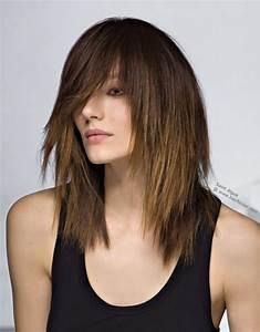Coupe Cheveux Long Dégradé : modele de coiffure mi long degrade ~ Dode.kayakingforconservation.com Idées de Décoration