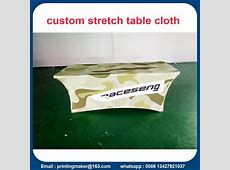 China Supplier of Custom Printed Table Covers, Printed