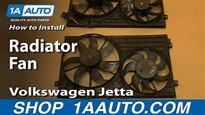 How To Install Replace Radiator Fan 2005