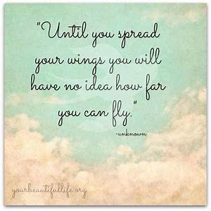 spread your win... Short Fly Quotes