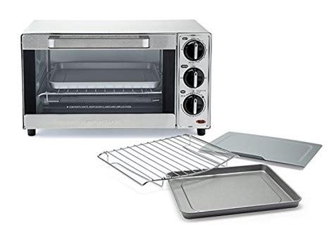 Hamilton Beach 31401 Stainless Steel 4 Slice Toaster Oven