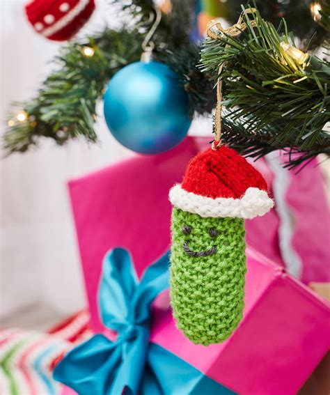 christmas tree ornaments knitting patterns