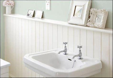 Beadboard Powder Room : Powder Room Beadboard Ideas In White Bathroom Beadboard