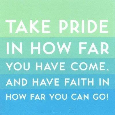 Take Pride Quotes