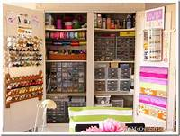 craft room organization ideas My Craft Cabinet: Up Close and Personal - In My Own Style