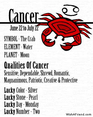 funny cancer horoscope quotes