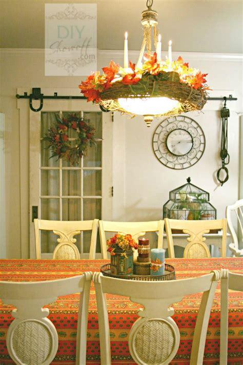fall decorating ideas  pinterest   dining room