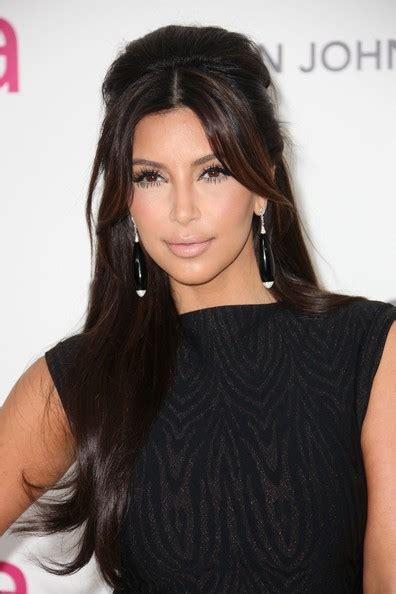 hairstyle photo kim kardashian long straight cut