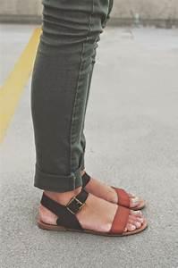 Sandalen Sommer 2015 : trendy flachen sandalen f r fr hling sommer urlaub moda ~ Watch28wear.com Haus und Dekorationen
