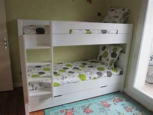 Lit Superposé Blanc : d couvrez la chambre enfant bow ~ Teatrodelosmanantiales.com Idées de Décoration