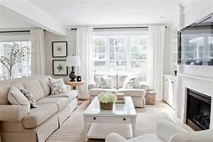 36, Light, Cream, And, Beige, Living, Room, Design, Ideas