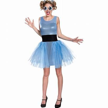 Powerpuff Bubbles Costume Adult Costumes Halloween Deluxe