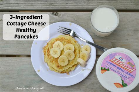 Cottage Cheese Ingredients by 3 Ingredient Cottage Cheese Pancakes