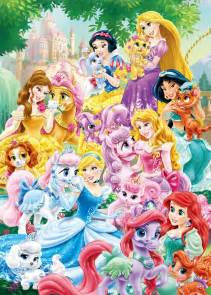 Pumpkin Palace Pet Toy by All Disney Princess Palace Pets Dark Brown Hairs