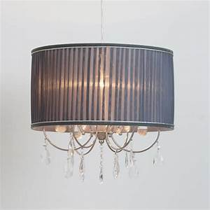 Bhs easy fit ceiling lights : Easy fit light shades cheap chandelier style clear