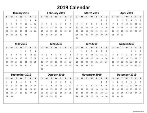 printable yearly calendar  printable calendar