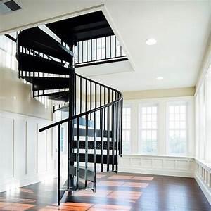 China, Spiral, Staircase, Design, Black, Metal, Spiral, Stairs