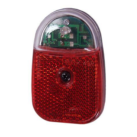 fahrrad led le fahrrad led r 252 cklicht kondensator standlicht reflektor schutzblechmontage ebay