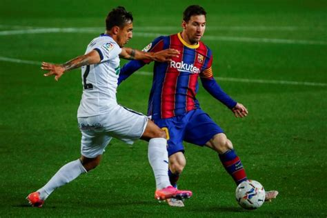 Barcelona 5-2 Getafe: Lionel Messi Scores Twice And Sets ...