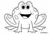 Frog Coloring Pages Outline Clipart Frogs Animals Preschool Printable Valentine Clip Template Print Cartoon Sheets Clipground Bestofcoloring Results Nuttin Pattern sketch template