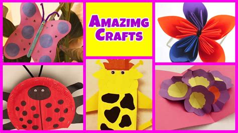 amazing arts  crafts collection easy diy tutorials