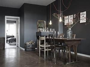 couleurs profondes pour ambiance feutree o aventure deco With couleur mur salle a manger
