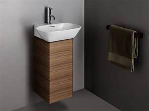 40 meubles pour une petite salle de bains elle decoration for Salle de bain design avec petit meuble pour vasque à poser