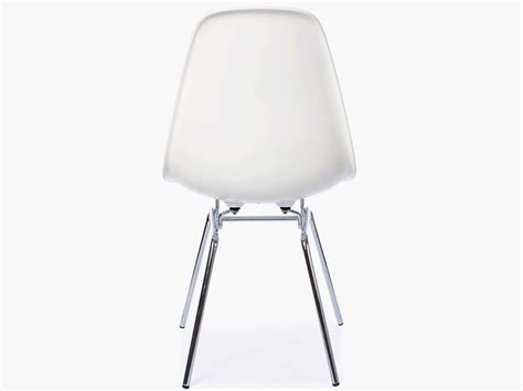 chaise dsw blanche chaise eames dsw blanc palzon com