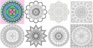 Mandala Coloring Pages Printable For Adults Printable