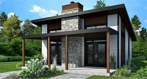 affordable tiny style house plan  bonzai