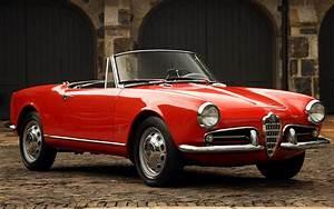 1958 Alfa Romeo Giulietta Spider - Wallpapers and HD