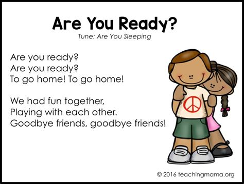 goodbye songs for preschoolers 775 | Slide09