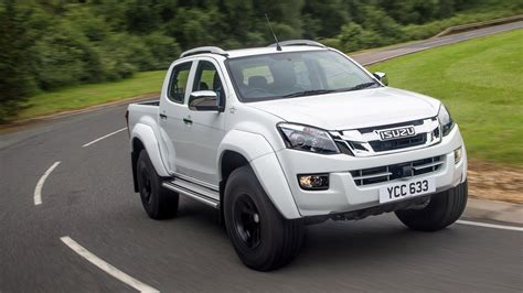 isuzu dmax isuzu d max arctic trucks at35 2016 review car magazine