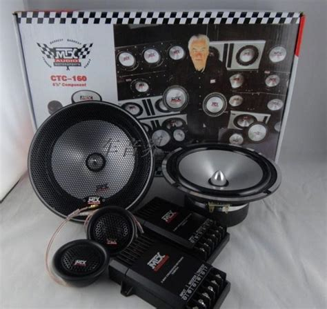car dvd car speakers car audio usa mtx ctc 160 6 5 inch