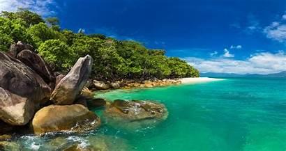 Island Beach Fitzroy Australia Islands Cairns Nudey