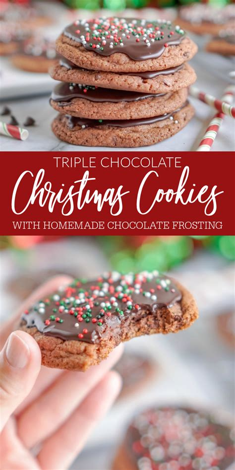 I like to scent mine with lemon and vanilla. Triple Chocolate Christmas Cookies - Lemon Peony