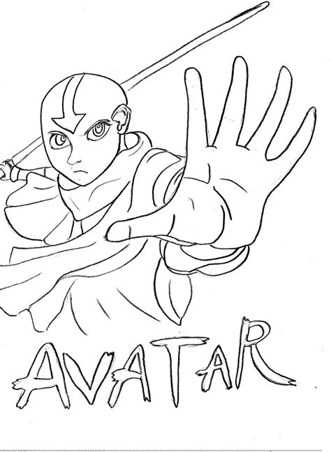 Avatar Coloring Pages by Coloring Page Tv Series Coloring Page Avatar Picgifs