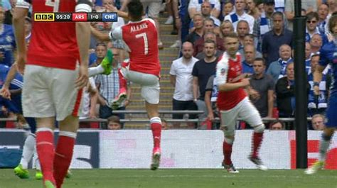 Alexis Sanchez FA Cup goal for Arsenal was rightly awarded ...