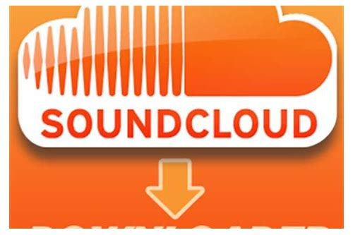 soundcloud mp3 free music download
