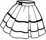 Skirt Poodle Clip Pages Clipart sketch template