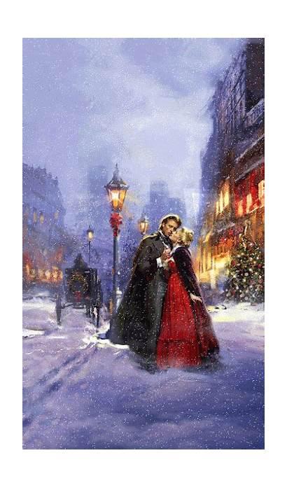 Christmas Winter Season Animated Victorian Photobucket Scenes